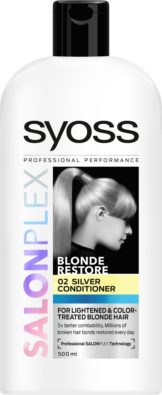 Syoss SalonPlex Silver Conditioner 500 ml - Apotek Hjärtat 3f930915c3a8e