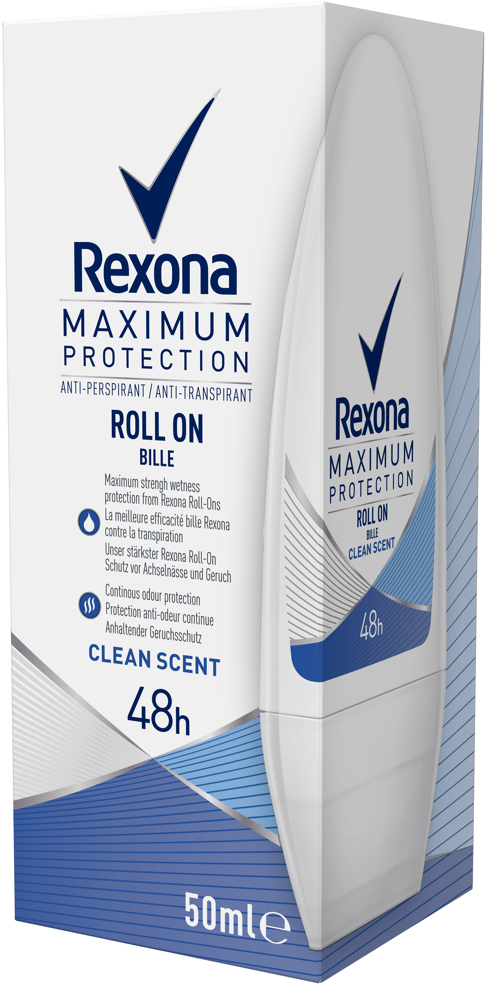 Rexona Roll-On Clean Scent 50 ml