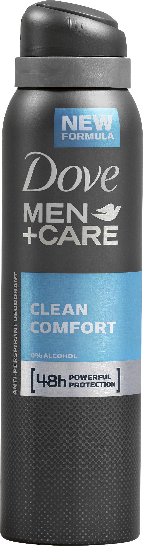 Dove Men+Care Deodorant Spray Clean Comfort 150 ml
