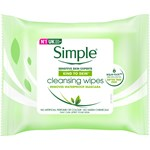 Simple Wipes Cleansing 25 st