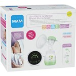 MAM 2in1 Electric & Manual Breast Pump