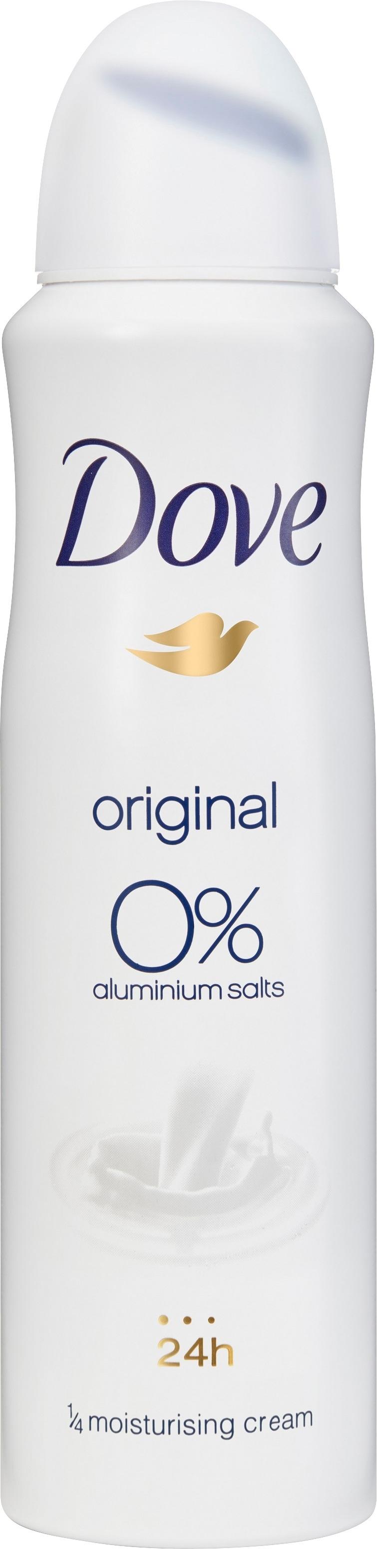 Dove Deodorant Spray Original 0% 150 ml
