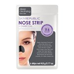 Skin Republic Charcoal Nose Strips 6 st