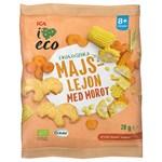 ICA I Love Eco Majslejon Morot 20 g