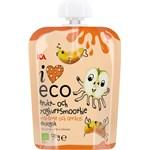 ICA I Love Eco Frukt & Yoghurtsmoothie Äpple Aprikos 90 g