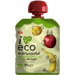 ICA I Love Eco Fruktsmoothie Äpple Banan Aprikos 90 g