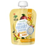 ICA I Love Eco Frukt & Yoghurtsmoothie Banan Mango 90 g