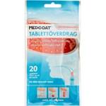 Medcoat tablettöverdrag 20 applikatorer, smak jordgubb 20styck