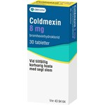 Coldmexin Orifarm 8 mg 30 tabletter
