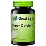 Great Earth Super Calcium 750 mg 100 tabletter