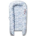 Sleepyhead Cover Deluxe+ Toile De Jouy Dusty Blue överdrag till babynest