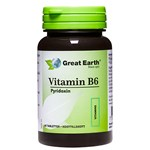 Great Earth Vitamin B6 23 mg 60 tabletter