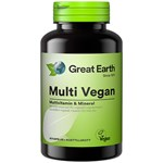 Great Earth Multi Vegan 60 kapslar