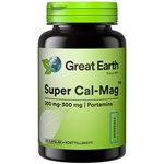 Great Earth Super Cal-Mag 300/300 mg 120 kapslar