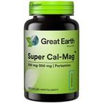 Great Earth Super Cal-Mag 300/300 mg 120 kapslar