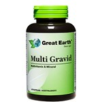 Great Earth Multi Gravid 60 kapslar