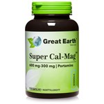Great Earth Cal-Mag 300/600 mg 120 kapslar