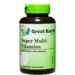 Great Earth Super Multi Vitamins Regular 90 tabletter