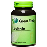 Great Earth Lecithin 90 kapslar