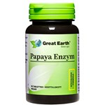 Great Earth Papaya Enzym 90 tuggtabletter