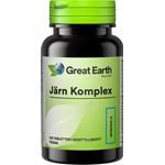 Great Earth Järn Komplex 100 tabletter