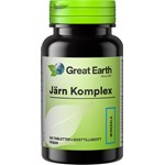 Great Earth Järn Komplex 100 tabletter