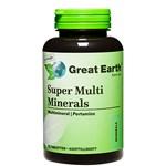 Great Earth Super Multi Minerals Regular 90 tabletter