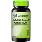 Great Earth BioCell Collagen II + Hyaluronsyra 60 kapslar