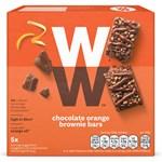 WW ViktVäktarna Chokladbars med Apelsin- och Browniesmak 5 st