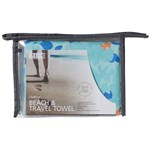 Smart Beach & Travel Towel Kamouflage Blå