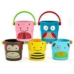 Skip Hop Zoo Hinkar Badleksak 5-pack