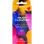 RFSU Enjoy Variation 8 Kondomer + Glidmedel 5 ml