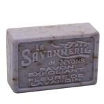 La Savonnerie de Nyons Savon Exfoliant Fleurs de Lavandin hård tvål 100 g