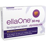 ellaOne Filmdragerad tablett 30mg Blister, 1tablett