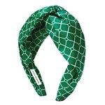 Hermine Hold Isabella Headband Green-White