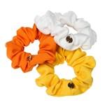 Hermine Hold Mini Scrunchies Citrus 3 st