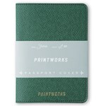 Printworks Passport Holder Green