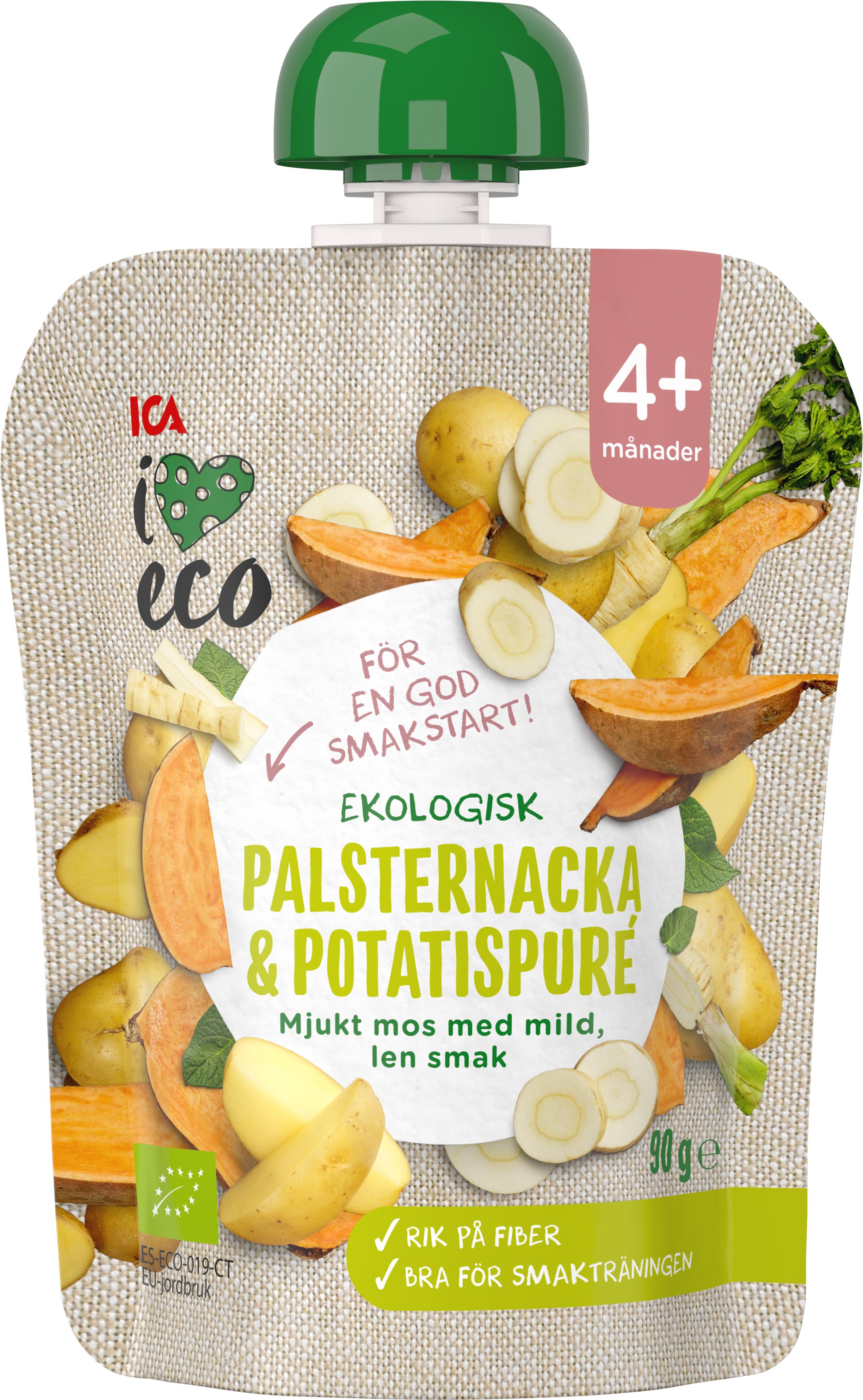 potatis och palsternacka mos