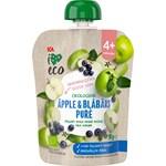 ICA I Love Eco Äpple & Blåbärspuré 90 g