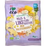 ICA I Love Eco Majs & Linsflodhästar 20 g