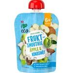 ICA I Love Eco Fruktsmoothie Äpple Kokos 90 g