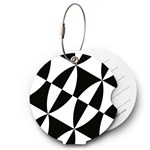 From Form Travel Essentials Bagagetag Black & White