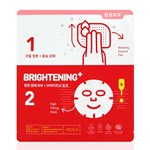 Medius Ampoule Synergy Mask Brightening Plus 2-steg 33 ml