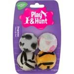 Dogman Plyschklädd Plastboll 4-pack