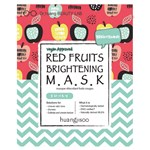 Huangjisoo Red Fruits Brightening Mask 25 ml