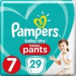 Pampers Baby-Dry Pants Stl 7 17 kg+ 29 st