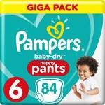 Pampers Baby-Dry Pants Stl 6 15 kg+ 84 st