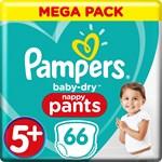 Pampers Baby-Dry Pants Stl 5+ 12-17 kg MegaBox