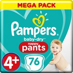 Pampers Baby-Dry Pants Stl 4+ 9-15 kg 76 st
