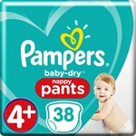 Pampers Baby-Dry Pants Stl 4+ 9-15 kg 38 st